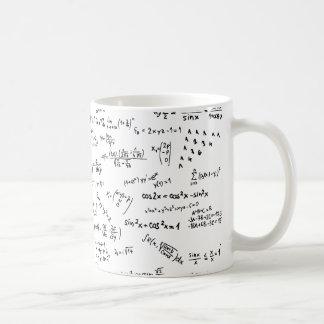 Formules et nombres de maths mug