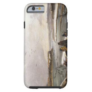 Fort Clark sur le Missouri, février 1834, plat 1 Coque Tough iPhone 6