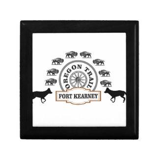 Fort Kearney Nébraska Boîte À Souvenirs