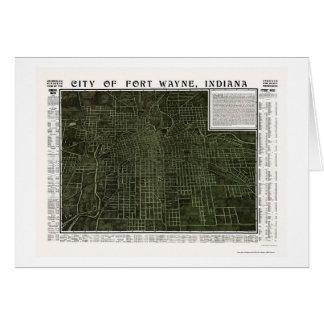 Fort Wayne, DANS la carte panoramique - 1907