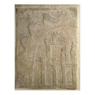 Forteresse sous le siège, de Nimrud, l'Irak Cartes Postales