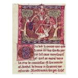 Fortune sans visibilité de déesse avec le Roi Arth Cartes Postales