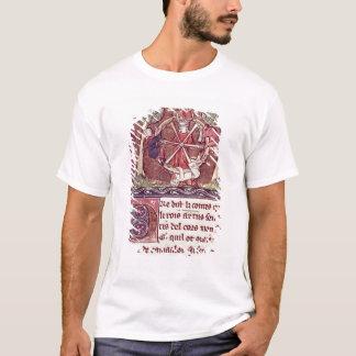 Fortune sans visibilité de déesse avec le Roi T-shirt