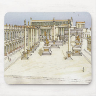Forum impérial. Rome Tapis De Souris