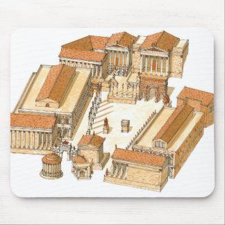 Forum impérial. Rome. Vue aérienne Tapis De Souris
