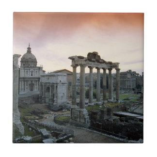 Forum romain à l'aube carreau