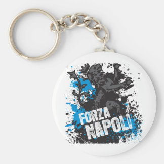Forza Napoli Porte-clé Rond