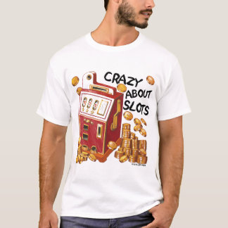 Fou au sujet du T-shirt de valeur de fentes
