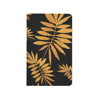 Fougère d'or fascinante carnet de poche