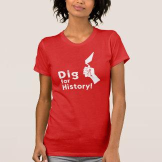 Fouille pour l'histoire ! Le T-shirt des femmes