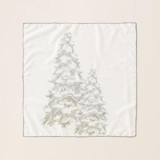Foulard Célébrez l'écharpe de carré de milieu d'arbre de