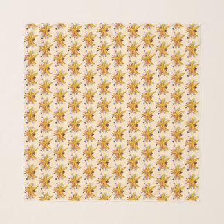 Foulard Élégant floral nautique d'étoiles de mer