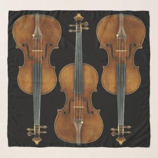 Foulard Le trio de violon de Stradivarius choisissent la