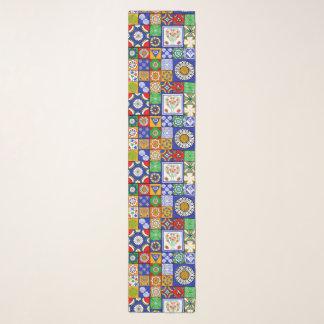 Foulard L'Espagnol couvre de tuiles l'écharpe