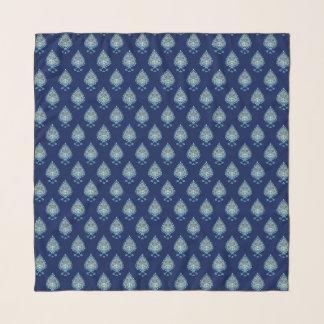 Foulard Lotus bleu