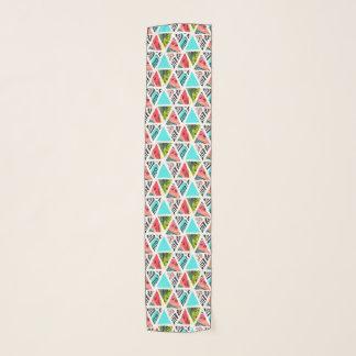 Foulard Motif tropical abstrait coloré