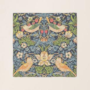 Foulard Schéma floral William Morris Strawberry Thief
