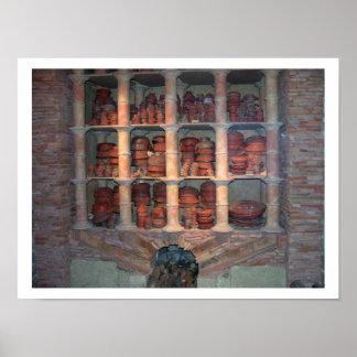Four de poterie de Graufesenque, c.150 AVANT JÉSUS Posters