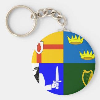 Four_Provinces_Flag Porte-clé Rond
