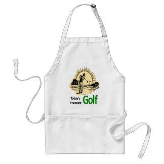 "Fourcast d'aujourd'hui ""golf "" tablier"