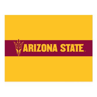 Fourchette d'état de l'Arizona Carte Postale