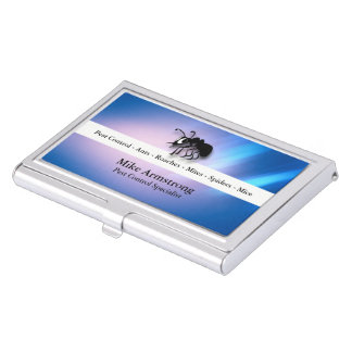 Fourmi d'exterminateur de lutte contre les porte-cartes de visite
