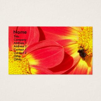 Fourmi florale cartes de visite