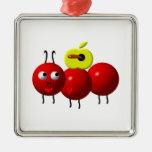 Fourmi mignonne avec Apple Décoration Pour Sapin De Noël
