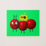 Fourmi mignonne avec Apple Puzzles Avec Photo
