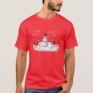 fourmis de neige t-shirt