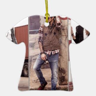 Fournisseur-Chute-Hiver-Robe-Collection-pour-Mode Ornement T-shirt En Céramique