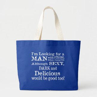 Fourre-tout enorme sexy, foncé, et délicieux grand sac