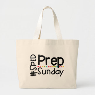 Fourre-tout #SPEDPrepSunday Grand Tote Bag