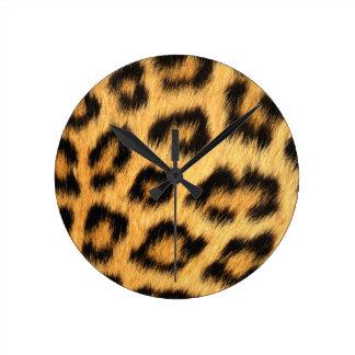 Fourrure 2 de Jaguar Horloge Ronde