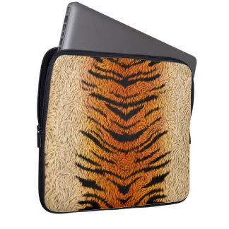 Fourrure d'animal de tigre de Bengale Trousse Ordinateur