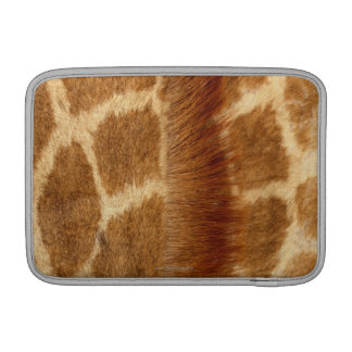 Fourrure de girafe poches macbook air