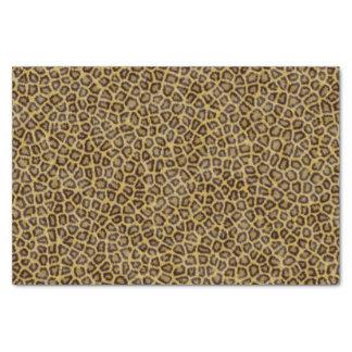 Fourrure de léopard papier mousseline