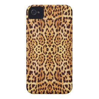 fourrure élégante de léopard coque iPhone 4
