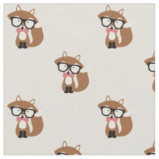 Fox de Brown de cravate d'arc et de hippie en Tissu