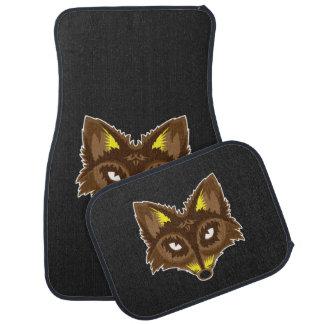 Fox de chasseur tapis de voiture