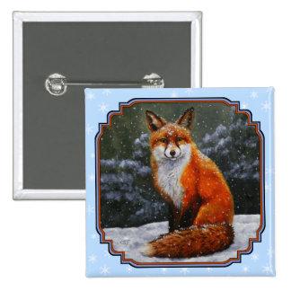 Fox de neige badges