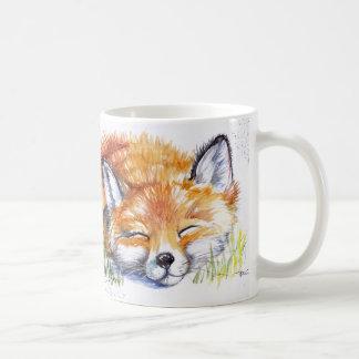 Fox de sommeil mug