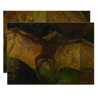 Fox de vol de Vincent van Gogh GalleryHD Carton D'invitation 12,7 Cm X 17,78 Cm