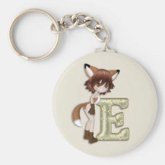 Fox E Porte-clé Rond