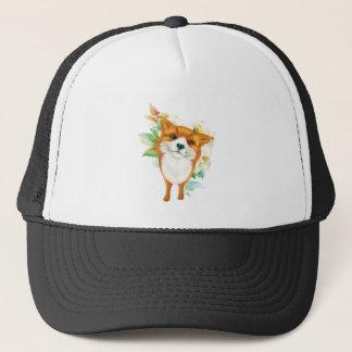 Fox et roses casquette