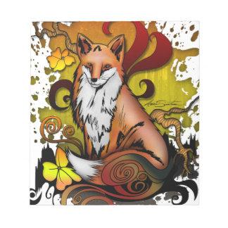 Fox extérieur bloc-note