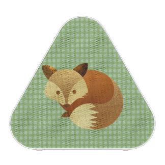 Fox mignon d'automne haut-parleur bluetooth