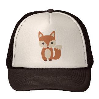 Fox mignon de bébé casquette trucker
