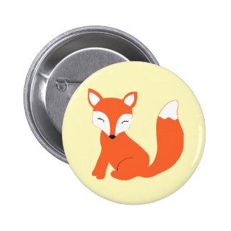 Fox mignon de bébé de région boisée badge