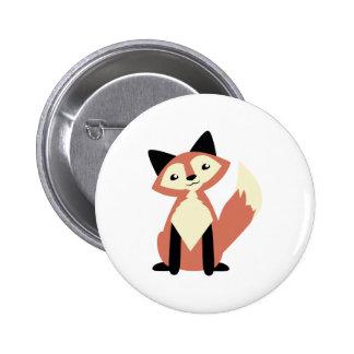 Fox mignon de Tête-inclinaison Pin's